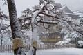 Fujiya Hotel in the snow (Hakone, Japan)