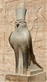 Horus at the temple of Edfu