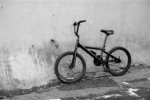 bike on wall (1 of 1)