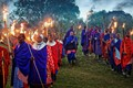Masai Torchlight Celebration