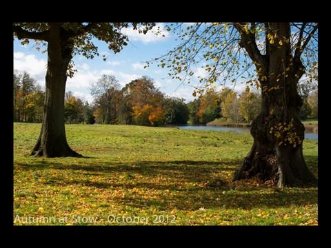 Autumn at Stow