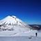 Tongariro Crossing in Winter - Mt Ngauruhoe