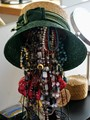 Hat with accessories