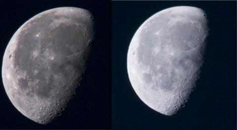 Moon comparison 05 nov 2012