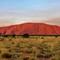 Smoky Uluru Sunset