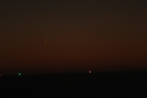 PanSTARRS over Rottnest3 March 8