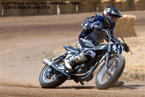 Flat trackin' and moto crossin'