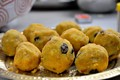Traditional Laddus following with the sweet aroma...