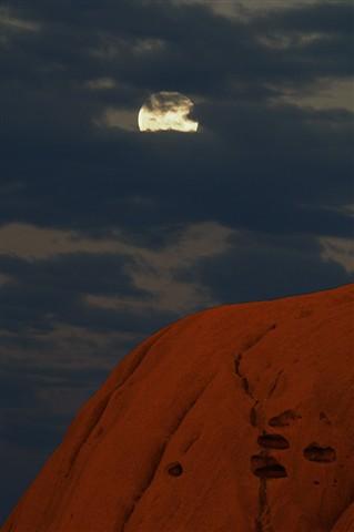 Uluru Moonrise