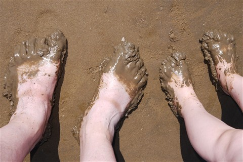 Happy Feet: Impromptu day at the beach - The prequel
