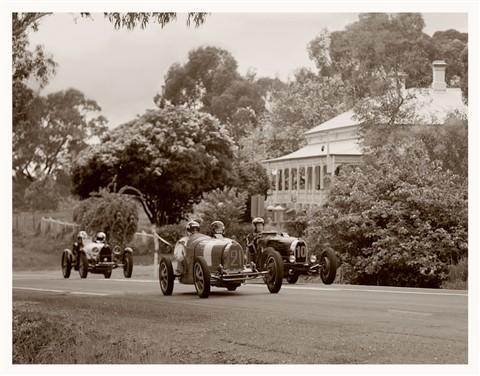 Brace of Bugatti's tonal filter