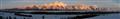 The Teton Range at dawn, taken from Teton Point, Grand Teton National Park, Wyoming, USA.