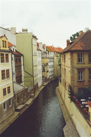 Prague canal1999