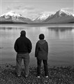 Taking in Glacier Park From Lake McDonald