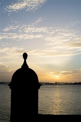 sunset turret