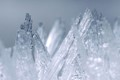Macro ice mountains