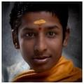 Bemused Brahmin Priest