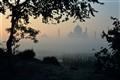 Dawn at the Taj Mahal