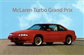 """My McLaren Turbo, Actual Pace Car in """"Days of Thunder"""""""