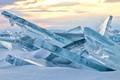 Ice hummocks
