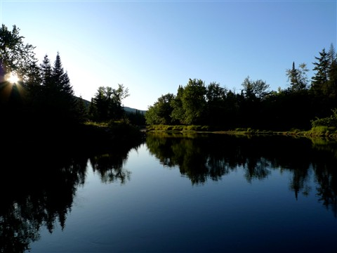 Lac Monroe, Québec, Canada