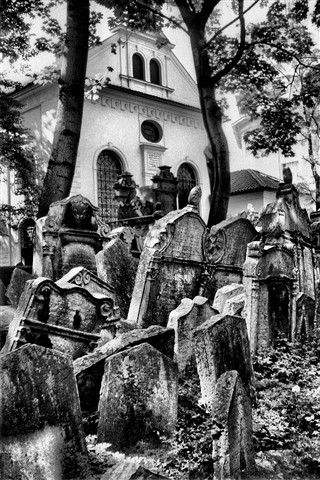 Prague-The Jewish Cemetery