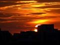 Evening Glow of the setting sun
