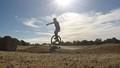 Unicycle Pump Track training