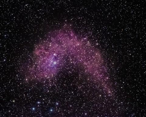 Flaming Star Nebula v2