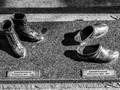 The Shoes on Davidshallsbon, civic sculpture Malmo, Sweden.
