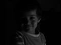 Baby in dark