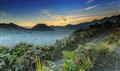 Sunset at Bromo Mountain