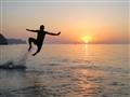 Flying at sunrise!
