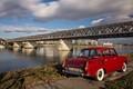 Red Car, Old Bridge