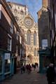 York Minster from Minster Gate