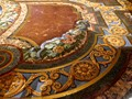 Richly decorated floor of a Lissabon Cathedral