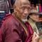 monk working