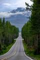 road to tetons