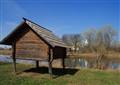 Storage shack. Suzdal. Russia