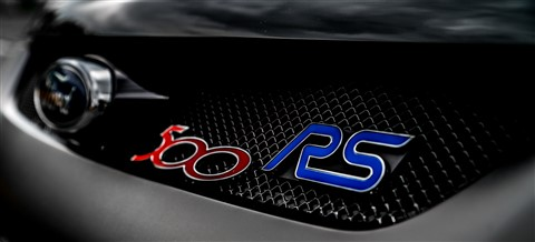 Ford Focus RS 500 Grille close up