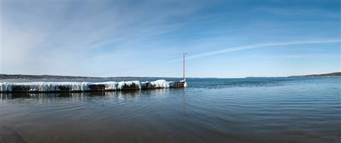 Boardman River at West Grand Traverse Bay