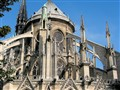 Notre Dame de Paris - an unusual view