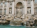 Rome's famous Trevi Fountain
