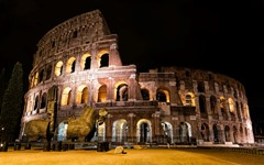 The Colosseum Built In 80 AD