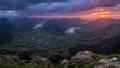 Mountain Vista at Sunset