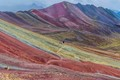 lone hiker rainbow mountain-3022