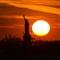 Sky and Statue (sun)
