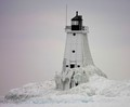 Lighthouse At Ludington