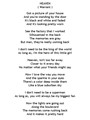 Song- Heaven