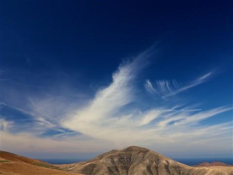Lanzarote clouds